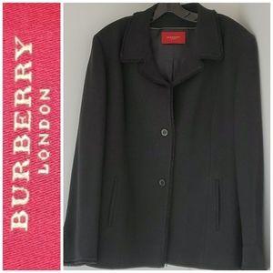Burberry tweed jacket